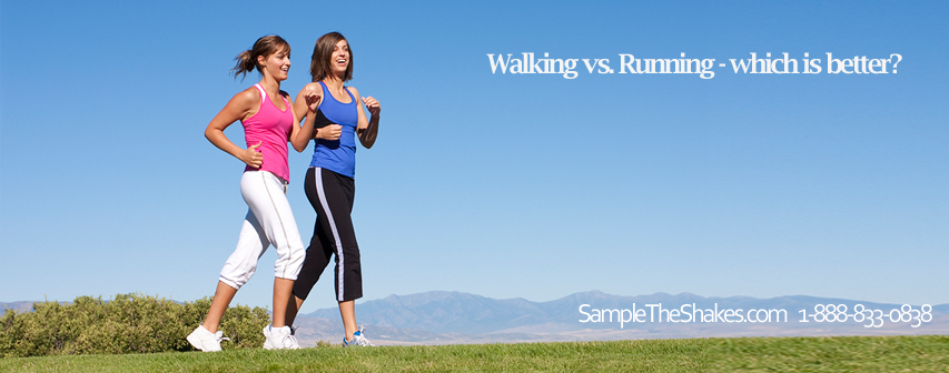 running vs walking