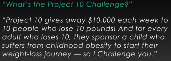Vi Project 10 Challenge Information